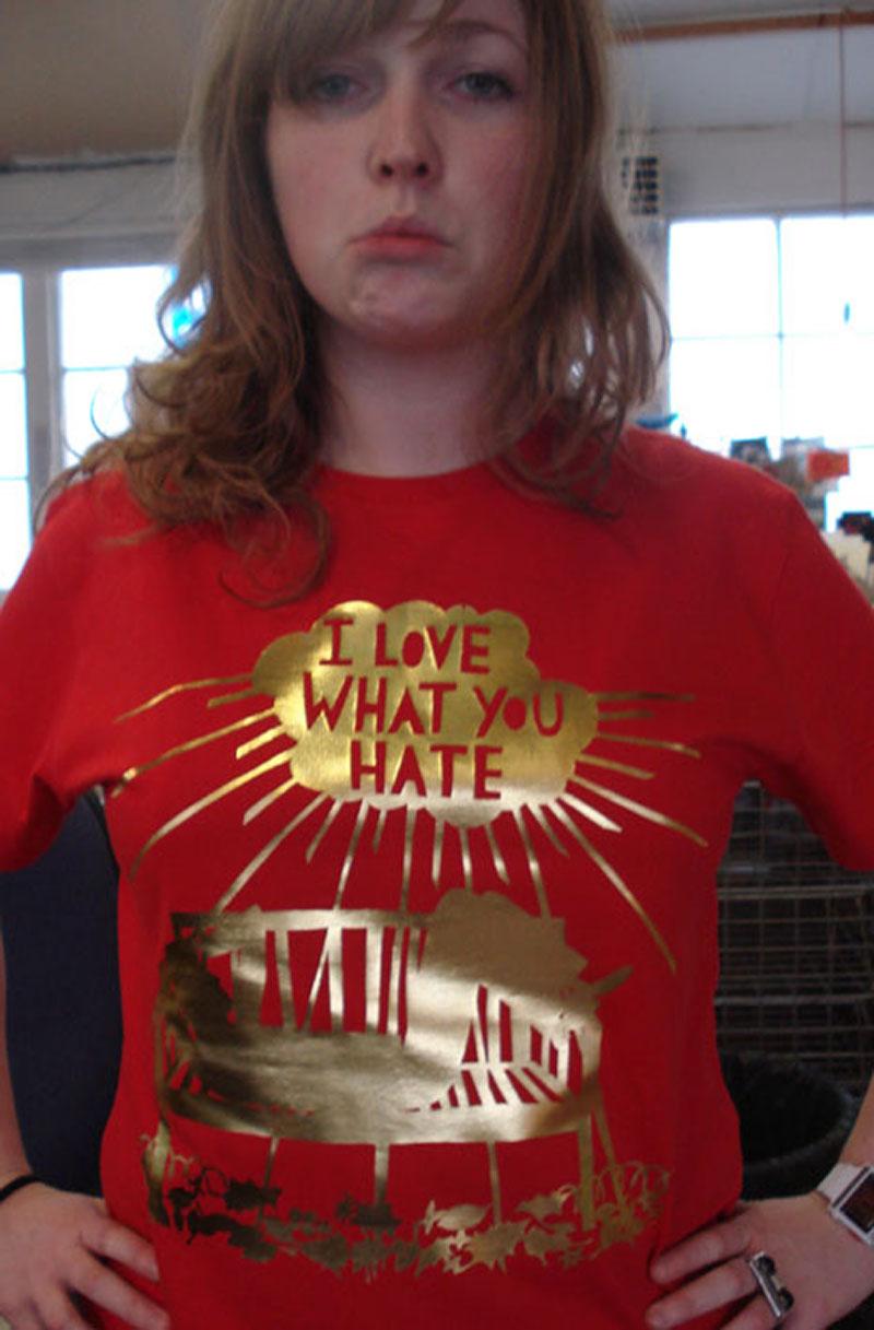 Haze-in-T-shirt