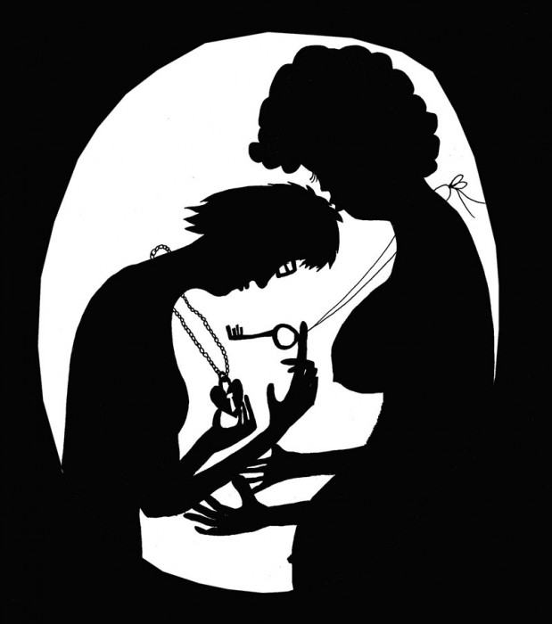 pregnant+locket+Black+background