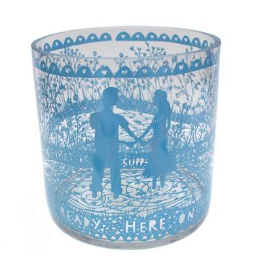Heaven vase front