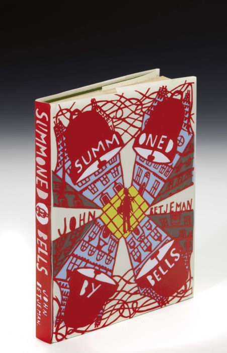 Lot 28 artist Rob Ryan. Book - Summoned by Bells by John Betjeman